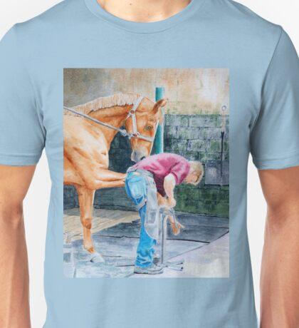 Horse Farrier Unisex T-Shirt