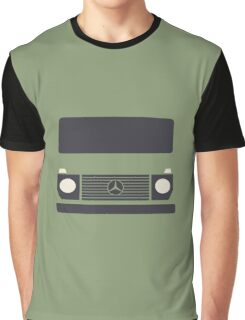 Mercedes G-Class Minimal (Olive) Graphic T-Shirt