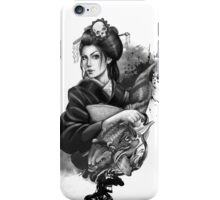 Geisha Tattoo iPhone Case/Skin