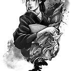Geisha Tattoo by mortimersparrow