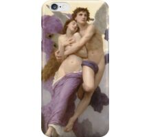 Psycheabduct by William Bouguereau iPhone Case/Skin