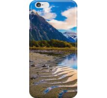 Milford Sound reflections iPhone Case/Skin