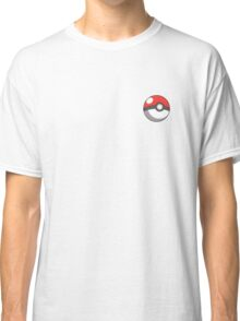 A Simple Pokeball for simple PokeTrainers Classic T-Shirt