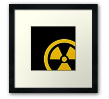 Yellow Radioactive Framed Print