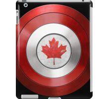 CAPTAIN CANADA - Captain America inspired Canadian shield iPad Case/Skin