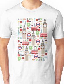 London Pattern Unisex T-Shirt