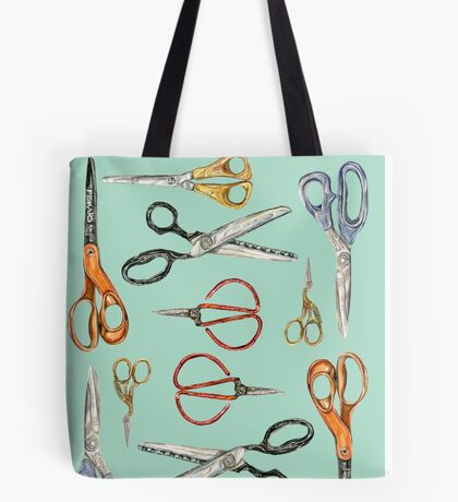 Scissors Collection Tote Bag
