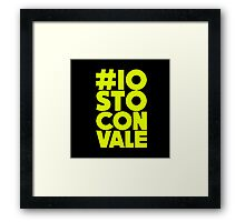 iostoconvale Rossi Framed Print
