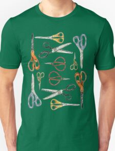 Scissors Collection Unisex T-Shirt