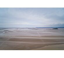 Sea desert Photographic Print