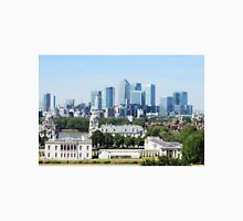 Canary Wharf Skyline - view from Greenwich Unisex T-Shirt