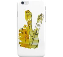 Two Fingers Print iPhone Case/Skin