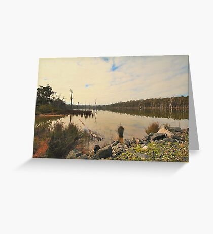 Schwenke's Dam, Greenbushes, Western Australia Greeting Card