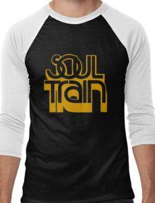 SOUL TRAIN (YELLOW) Men's Baseball ¾ T-Shirt