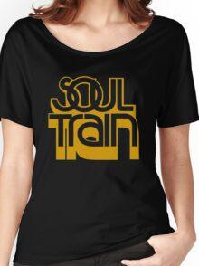 SOUL TRAIN (YELLOW) Women's Relaxed Fit T-Shirt