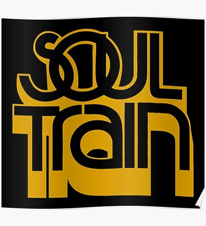 SOUL TRAIN (YELLOW) Poster