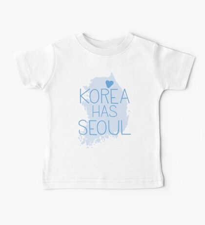 Korea has SEOUL Baby Tee
