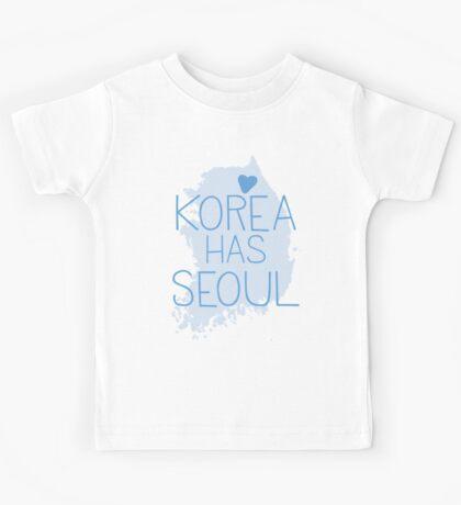 Korea has SEOUL Kids Tee