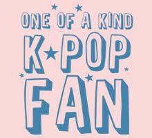 ONE OF A KIND k-pop fan Kids Tee