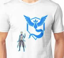 Team Mystic Logo and Blanche Unisex T-Shirt