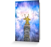 Berlin Victory Column Greeting Card
