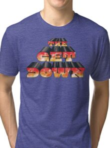 The Get Down Netflix Afro Tri-blend T-Shirt