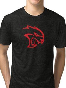 SRT Hellcat Head Tri-blend T-Shirt