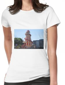 Helter Skelter near Greenwich Womens Fitted T-Shirt