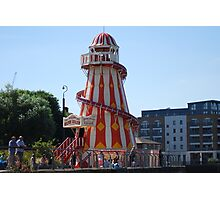 Helter Skelter near Greenwich Photographic Print