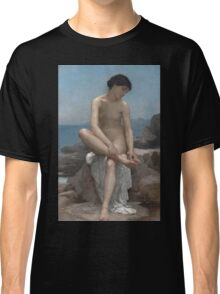 The Bather (1879) by William Bouguereau  Classic T-Shirt