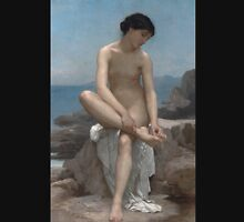 The Bather (1879) by William Bouguereau  Tank Top
