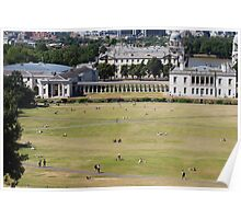 Sunny day at Greenwich Park Poster