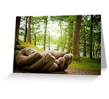 IN GOOD HANDS Greeting Card