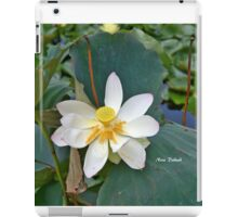 The Lotus iPad Case/Skin