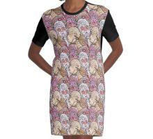 UTENSIL FREAKS Graphic T-Shirt Dress