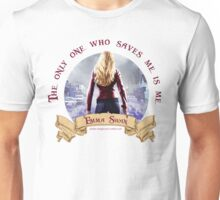 The Only One Who Saves Me Is Me - Emma Swan Unisex T-Shirt