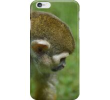 Squirrel Monkey II - Photograph iPhone Case/Skin