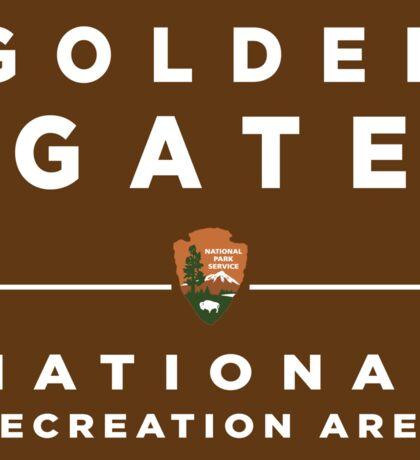 Golden Gate National Recreation Area Sticker