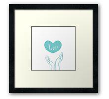 Love Series #2 Framed Print