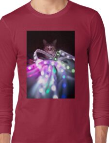 Disco Cat Long Sleeve T-Shirt