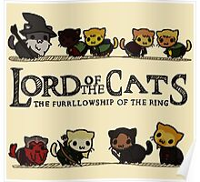 Lord Of the Cats - The Furrlowship of the Ring top edition Poster