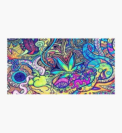 Psychedelic Slug  Photographic Print