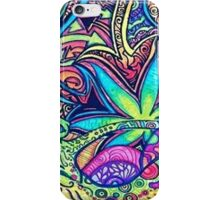 Psychedelic Slug  iPhone Case/Skin