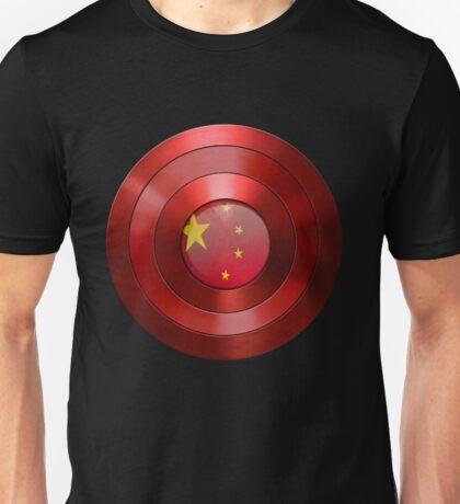 CAPTAIN CHINA - Captain America inspired Chinese shield Unisex T-Shirt