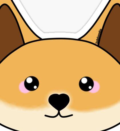 Cute dingo - Australian animal design Sticker