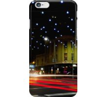 Russell and Lonsdale by Night - Melbourne, Victoria iPhone Case/Skin