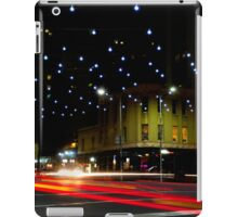 Russell and Lonsdale by Night - Melbourne, Victoria iPad Case/Skin