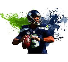 Russell Wilson Photographic Print