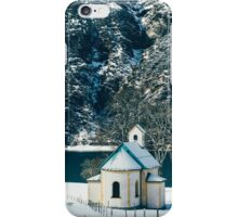 Church By The Achensee iPhone Case/Skin
