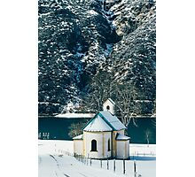 Church By The Achensee Photographic Print